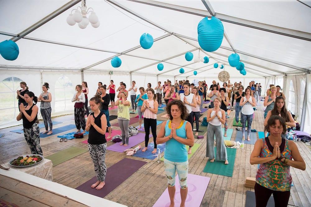 Yoga Festival Steinberger See